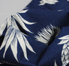 The Hill-Side - Pineapples Discharge Print Bandana, Indigo / White - image 3