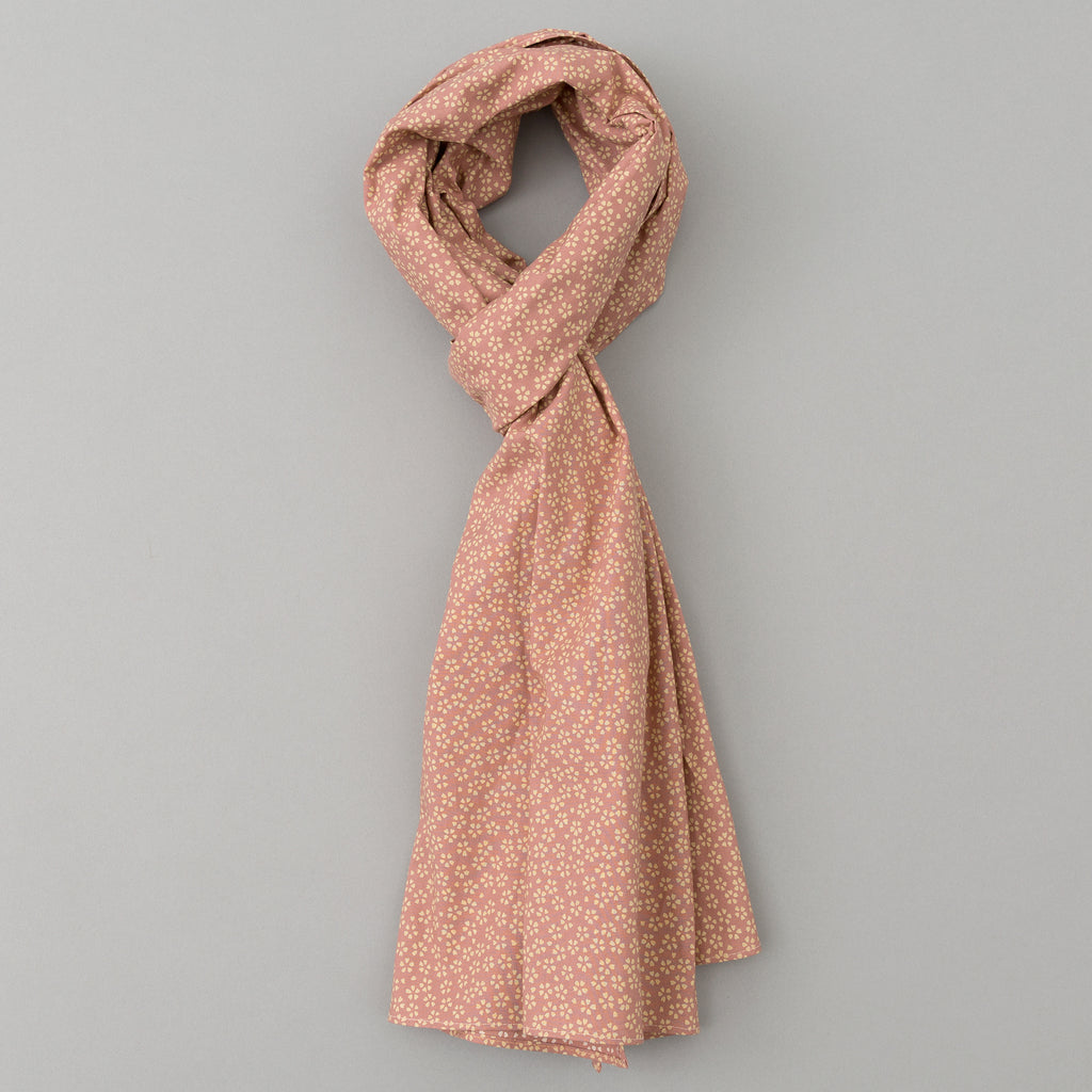 The Hill-Side - Plum Blossoms Scarf, Pink - SC1-486 - image 1