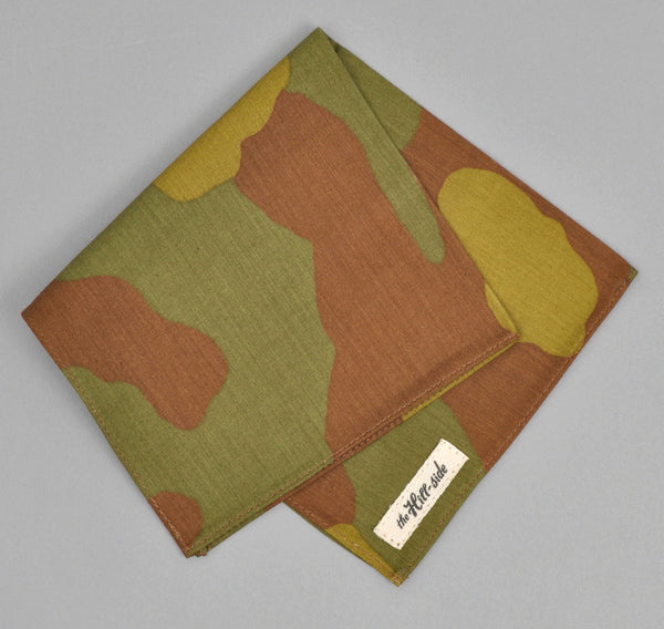 The Hill-Side - Pocket Square, Italian Camouflage - N13-173