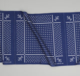 The Hill-Side - Rancher Logo Souvenir Bandana Scarf, Navy - SB2-03 - image 2