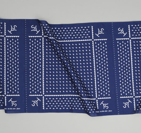 The Hill-Side Rancher Logo Souvenir Bandana Scarf, Navy