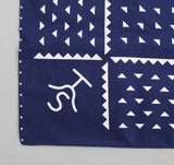 The Hill-Side - Rancher Logo Souvenir Bandana Scarf, Navy - SB2-03 - image 3