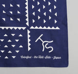 The Hill-Side - Rancher Logo Souvenir Bandana Scarf, Navy - SB2-03 - image 4