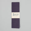 The Hill-Side - Scarf, TH-S Mills Navy Warp Windowpane Check, Coral - SC1-369 - image 3