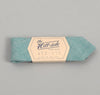 The Hill-Side - Selvedge Chambray Bow Tie, Turquoise - BT1-071 - image 2