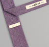 The Hill-Side Selvedge Chambray Necktie, Purple