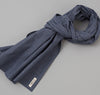 The Hill-Side - Selvedge Covert Gingham Chambray Scarf, Indigo / Indigo - SC1-330 - image 1