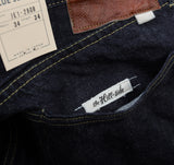 The Hill-Side - Selvedge Denim Blue Jeans w/ Mismatched Fabric Pocket Bags - JE1-280B - image 10