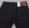 The Hill-Side - Selvedge Denim Blue Jeans w/ Mismatched Fabric Pocket Bags - JE1-280B - image 4