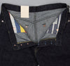 The Hill-Side - Selvedge Denim Blue Jeans w/ Mismatched Fabric Pocket Bags - JE1-280B - image 8