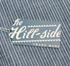 The Hill-Side - Selvedge Double Stripe Chambray Button-Down Shirt, Indigo - SH1-005 - image 10