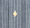 The Hill-Side - Selvedge Double Stripe Chambray Button-Down Shirt, Indigo - SH1-005 - image 6