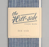The Hill-Side - Selvedge Double Stripe Chambray Small Scarf, Indigo - SC2-005 - image 2