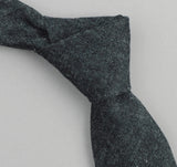 The Hill-Side - Selvedge Hemp Denim Necktie, Indigo - ST1-006 - image 1