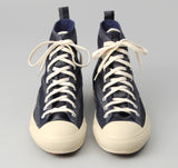 The Hill-Side - Selvedge Indigo Covert Stripe High Top Sneakers - SN4-175 - image 2