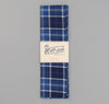 The Hill-Side - Selvedge Indigo Madras Large Check Scarf, Indigo Base - SC1-334 - image 2