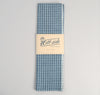 The Hill-Side - Selvedge Square Check Chambray Scarf, Indigo / White - SC1-293 - image 2