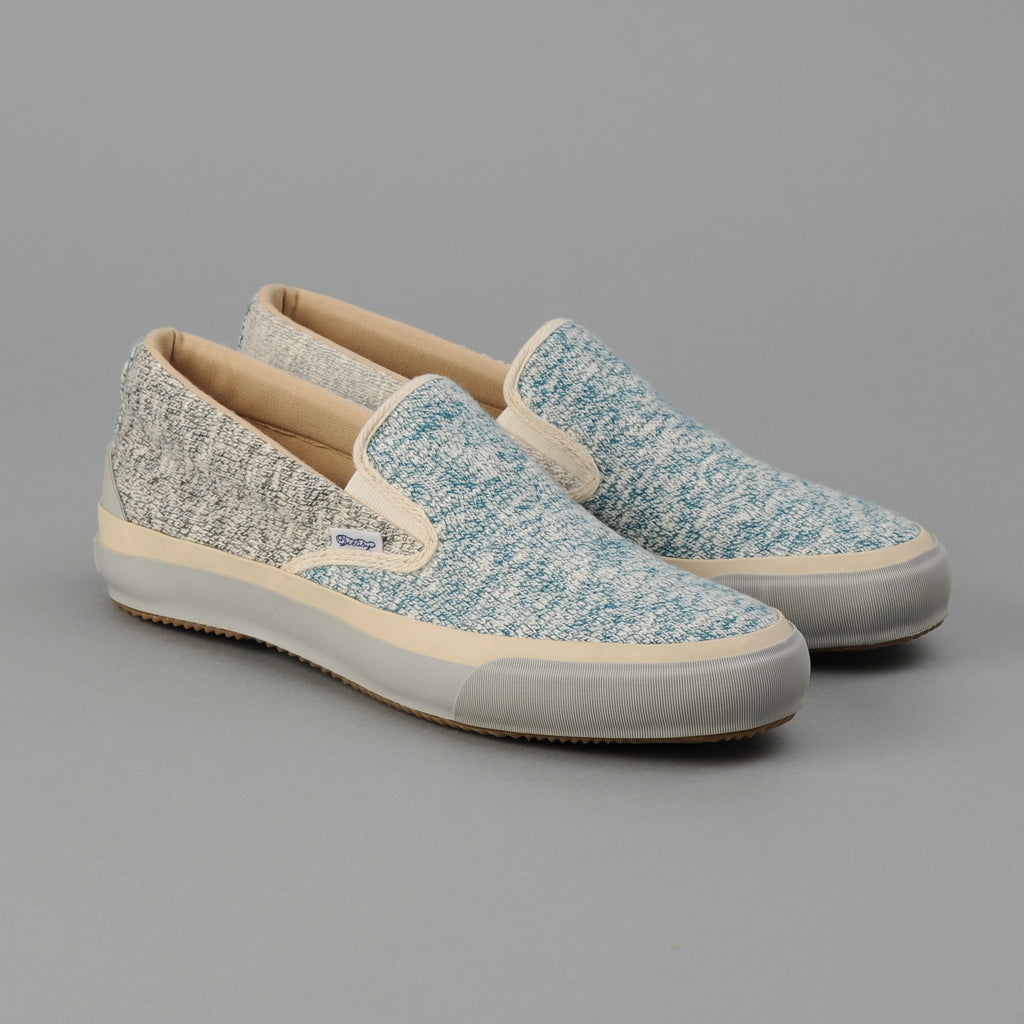 The Hill-Side - Slip-On, Three Heathered Slub Jerseys - SN5-475
