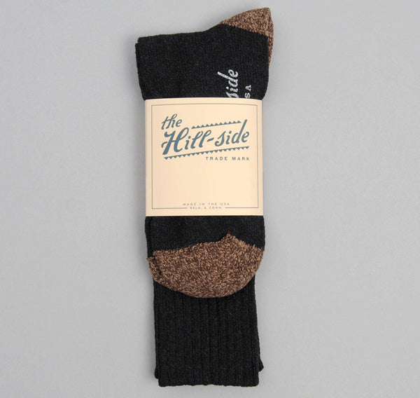 The Hill-Side - Socks, Black / Brown - SX1-06 - image 2