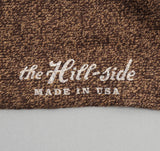The Hill-Side Socks, Brown / Red