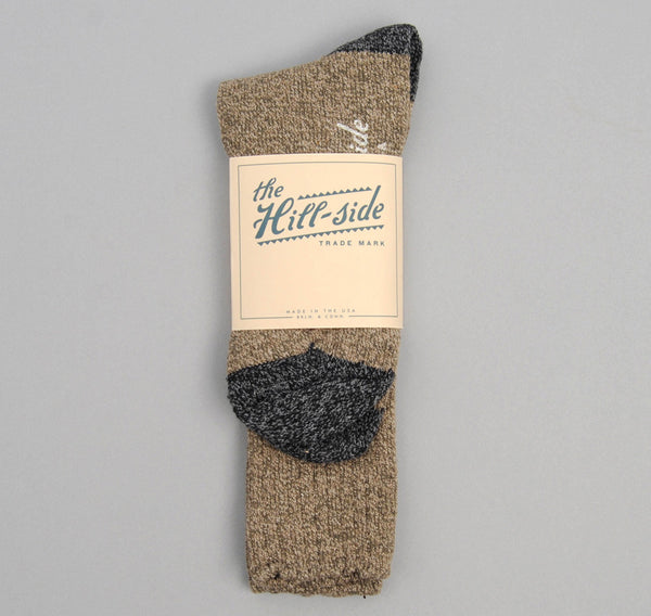 The Hill-Side - Socks, Olive / Charcoal - SX1-03 - image 2
