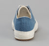 The Hill-Side - Standard Low Top, Pale Indigo Washed Denim - SN2-325 - image 3