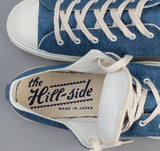 The Hill-Side - Standard Low Top, Pale Indigo Washed Denim - SN2-325 - image 4