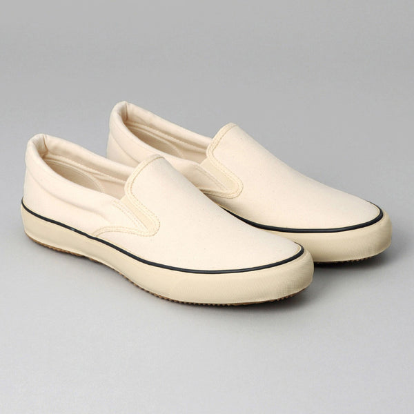 The Hill-Side - Standard Slip-On, Natural Duck Canvas - SN5-180 - image 1