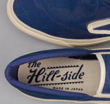 The Hill-Side - Standard Slip-On, Tropical Leaves Indigo Discharge Print - SN5-326 - image 4