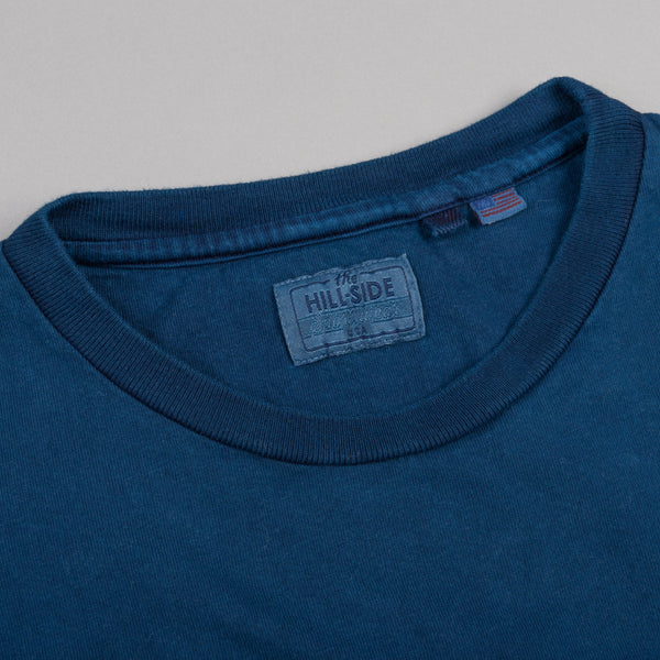 The Hill-Side - Standard T-Shirt, Japanese Indigo - TS1-0009 - image 2