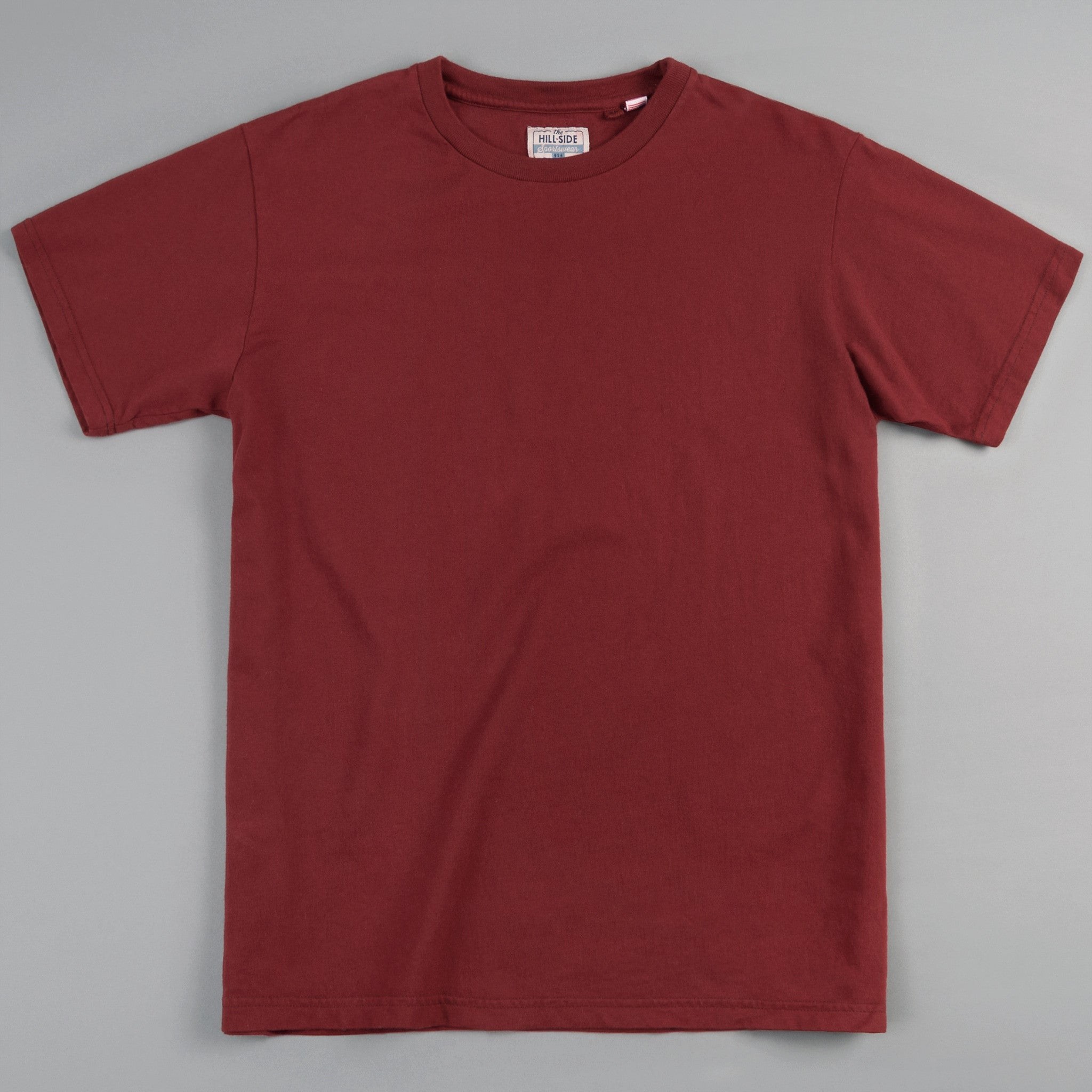 The Hill-Side - T-Shirt, Brick Red - TS1-0005 - image 1