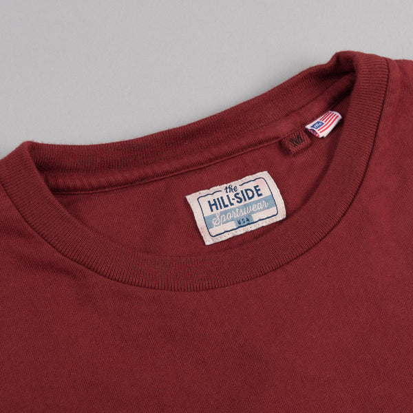 The Hill-Side Standard T-Shirt, Brick Red