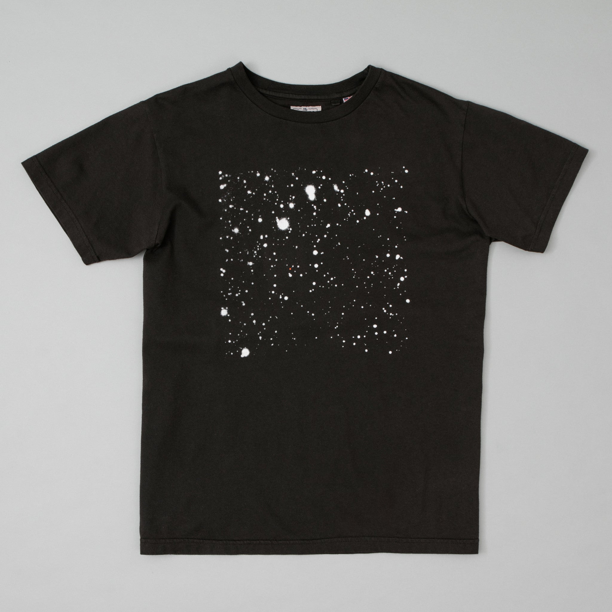 The Hill-Side - T-Shirt, Discovery of Pluto, Faded Black - TS1-1004 - image 1