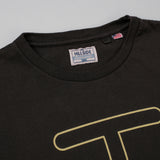 The Hill-Side - T-Shirt, Neon Rancher Logo, Faded Black w/ 3M Reflective Print - TS1-0804 - image 2