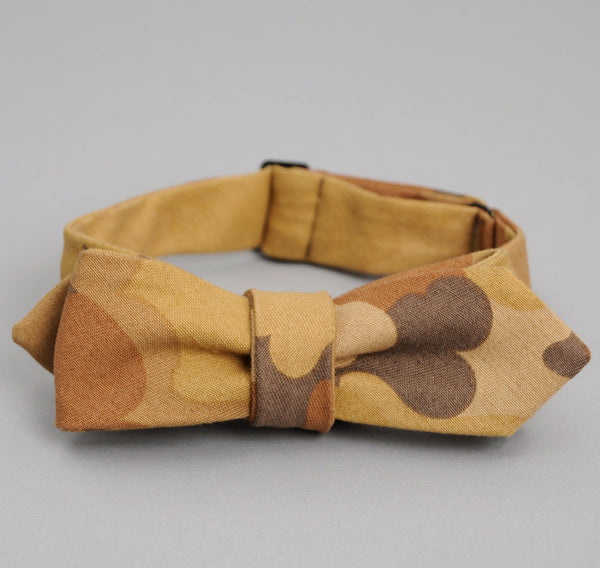 The Hill-Side - TAN CLOUD CAMOUFLAGE BOW TIE - BTN-172A - image 2
