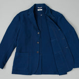 The Hill-Side - Tailored Jacket, Selvedge Lightweight Indigo Sashiko - JK1A-244 - image 2