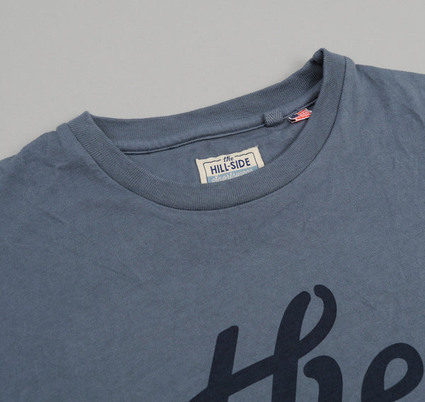 "The Hill-Side ""The"" T-Shirt, French Blue"