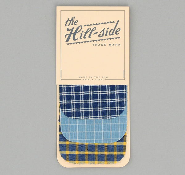 The Hill-Side - Three Windowpanes Iron-On Patches - PA1-903