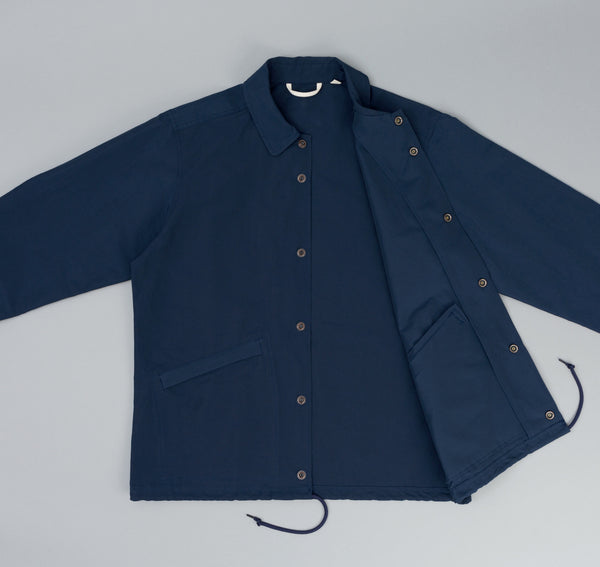 The Hill-Side - Ueno Jacket, Navy 60/40 Grosgrain w/ Rancher Logo Chenille Patch - JK9-351A - image 2