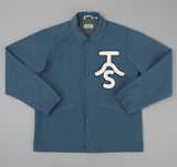 The Hill-Side - Ueno Jacket, Slate Blue w/ Chenille Patch - JK9-352A - image 1