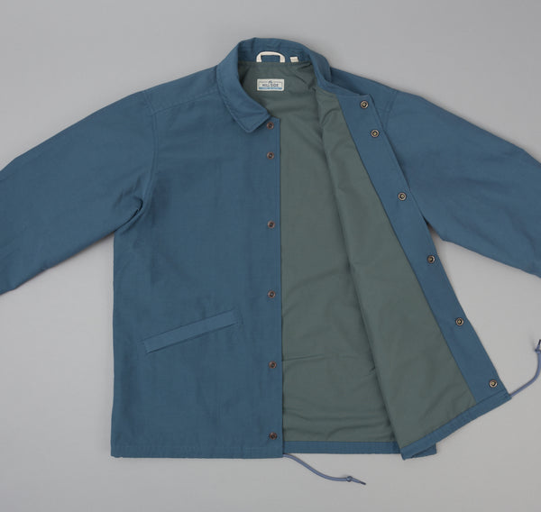 The Hill-Side - Ueno Jacket, Slate Blue w/ Chenille Patch - JK9-352A - image 2
