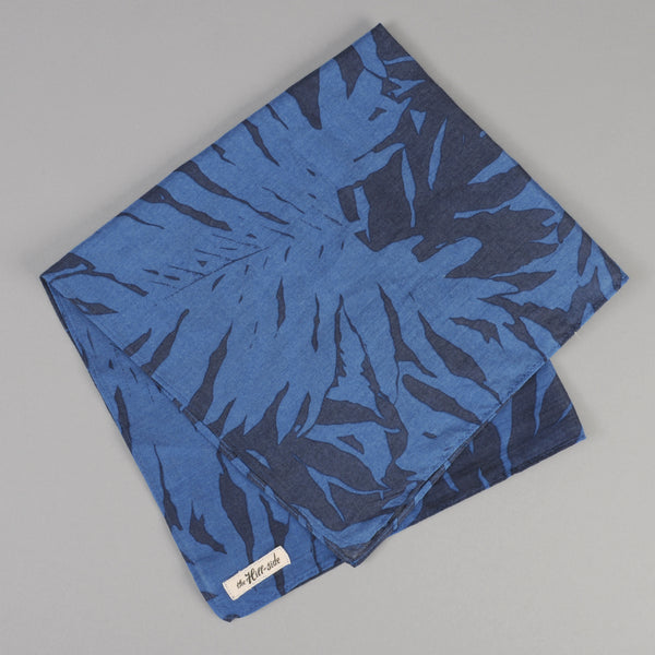 The Hill-Side - Ultralight Palm Leaves Bandana, Blue - PS1-441 - image 1