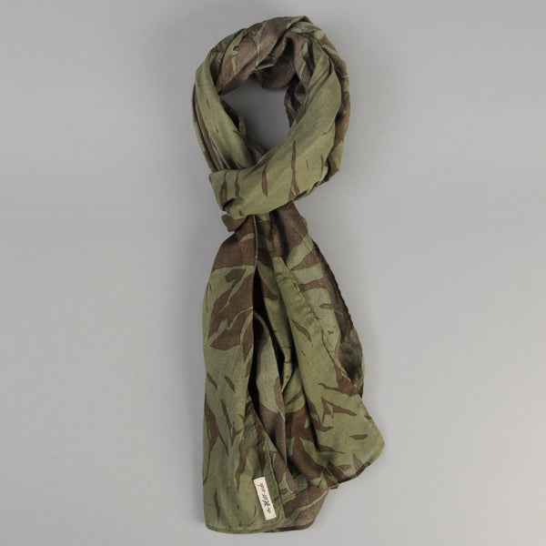 The Hill-Side - Ultralight Palm Leaves Scarf, Olive - SC1-443 - image 1
