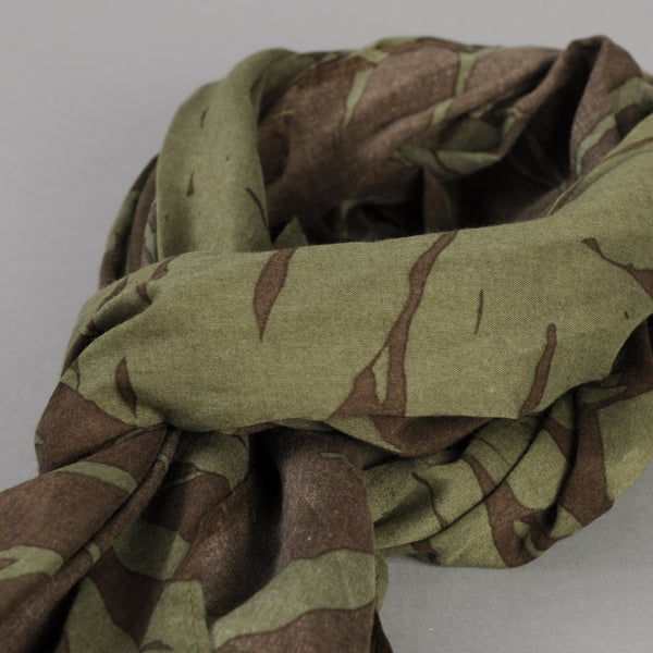 The Hill-Side - Ultralight Palm Leaves Scarf, Olive - SC1-443 - image 2