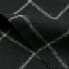 The Hill-Side - Wool Windowpane Check Pocket Square, Black & Grey - PS1-384 - image 3