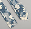 The Hill-Side - Xerox Floral Print Square-End Tie,  Navy - ST1-212 - image 2
