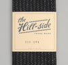 The Hill-Side Beach Cloth Stripe Small Scarf, Black / Navy