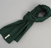 The Hill-Side Overdyed Soft Oxford Large Scarf, Hunter Green