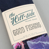 The Hill-Side x Good Fishing Shark Breach Bandana, Indigo