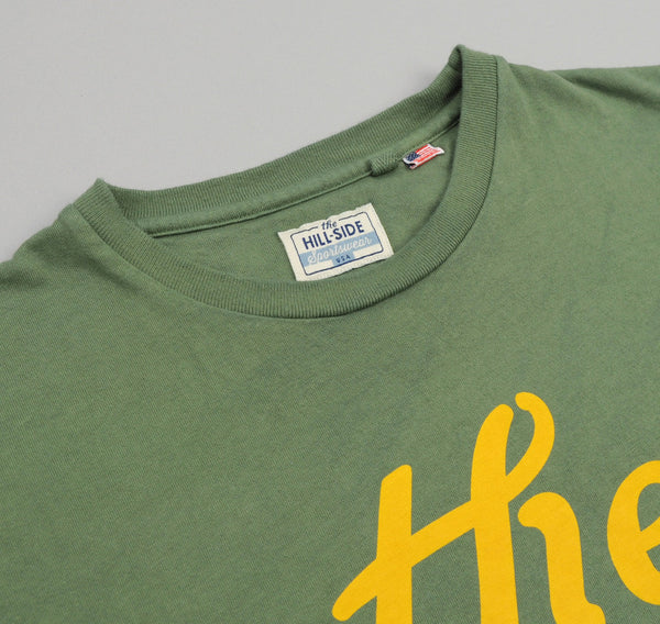 "The Hill-Side ""The"" T-Shirt, Army Green"